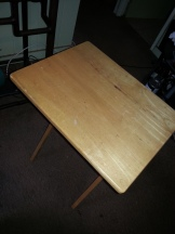 TV tray table, generic